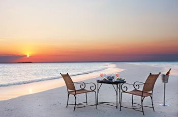 Exqhuisite beach dinners, Medjumbe Island