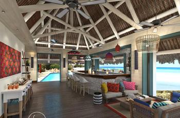 Medjumbe Island Resort, Main area