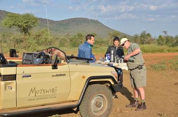 Game Drive at Motswiri in Madikwe Game Reserve