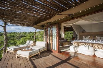 Guest Room at Mwiba Lodge, Serengeti
