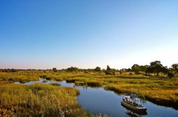 Diverse habitat at Nkasa Lupala, Namibia