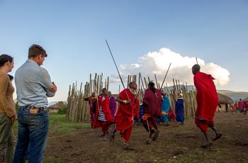 Masai Warriors, Tanzania