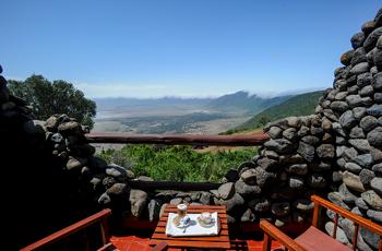 View from Ngorogoro Serena