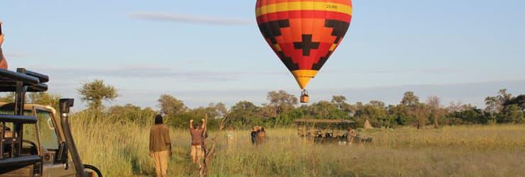Okavango Delta, Hot Air Ballooning