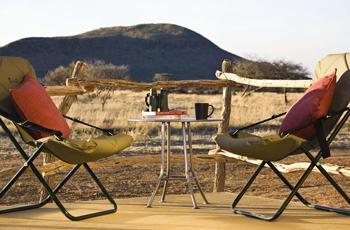 Accommodation at Okonjima Plains Camp