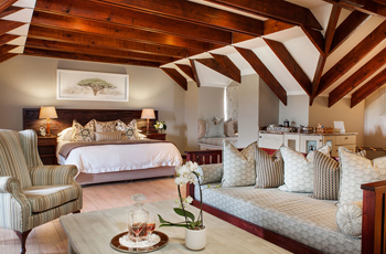 Room Interior, Olivers Lodge, South Africa