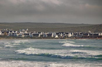 Paternoster, a small town on the wild flower route in South Africa