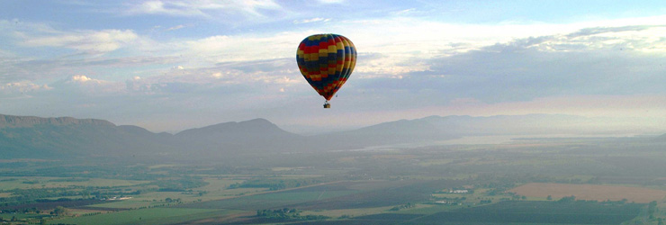 Hot Air Balloon, Magaliesberg Mountains, near Johannesburg