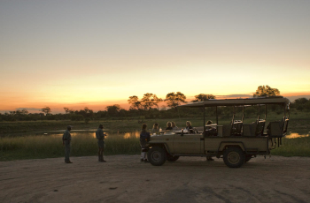 Game Drive at Rhino Post Safari Lodge