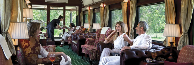 A truly luxurious experience on the Rovos Rail