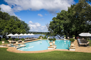 Swimming Pool, Royal Livingstone, Zambia