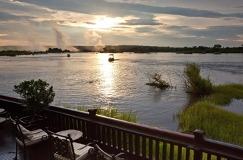 Zambezi River above the Falls, Royal Livingstone