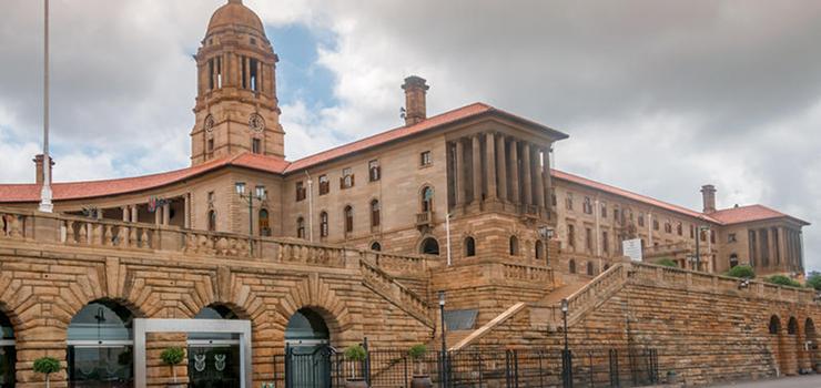 The Union Buildings at Pretoria
