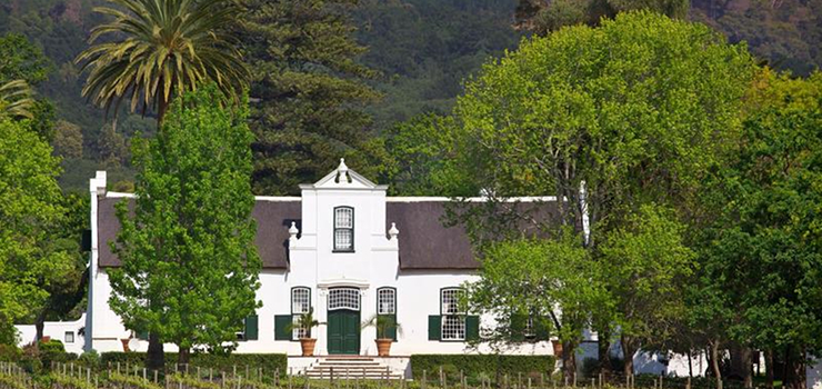The Cape Dutch architecture is synonymous with the Cape Winelands