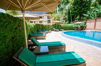 Swimming pool at SG Resort, Arusha
