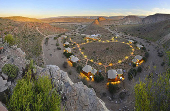 Dwyka Tented Lodge at Sanbona Wildlife Reserve