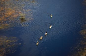 Selinda Canoe Safari, Botswana
