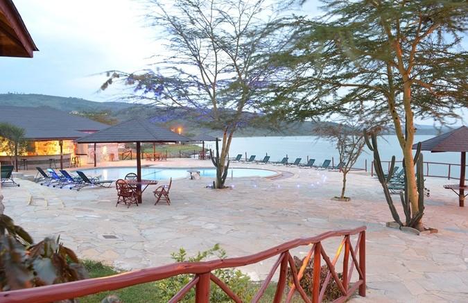 Pool at Sentrim Elementaita