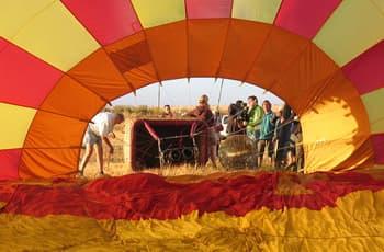 Winelands, Hot Air Ballooning