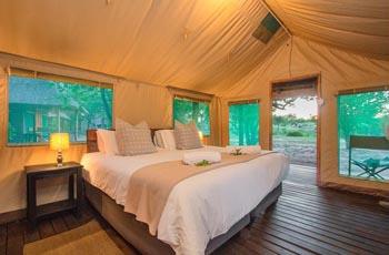 Tent Interior, Shindzela Safari Camp