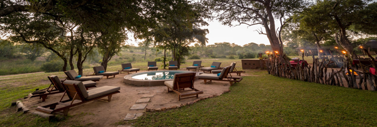 Main area of Shindzela Tented Camp