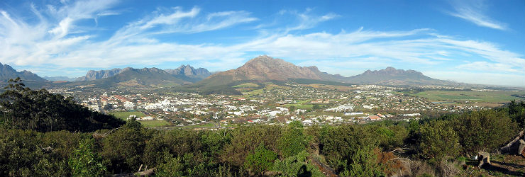 The Cape Winelands is a truly picturesque region for ballooning