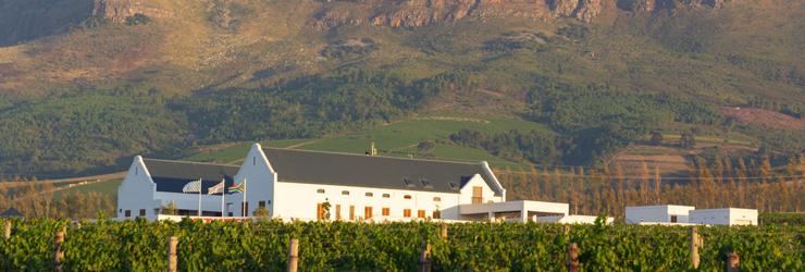 Stellenbosch on the Winelands, South Africa