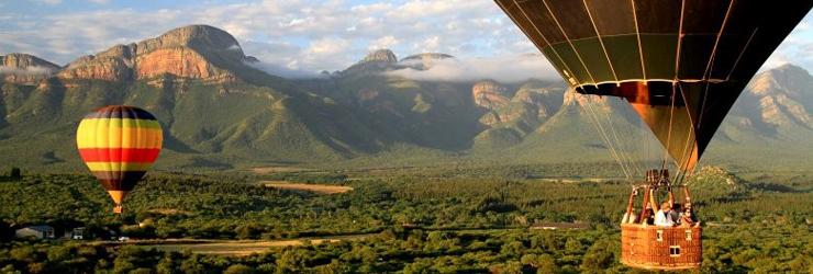 Hot Air Balloon Flight, Kruger Park area