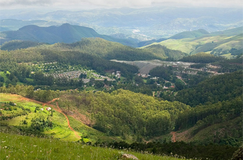 The general scenery of this part of Swaziland
