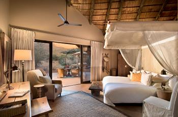 Room interior at Tswalu Kalahari