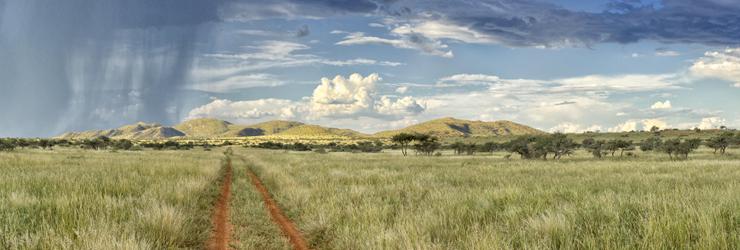 Tswalu Kalahari, a land of vast open spaces and big blue skies