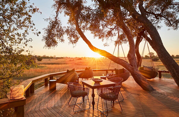 Breathtaking views are standard in the Khwai area of the Okavango Delta