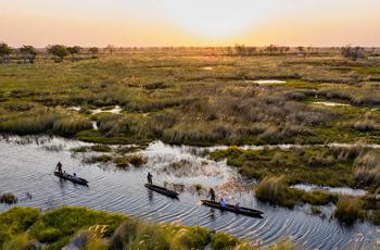 Mokoro excursion, Okavango Delta, Botswana