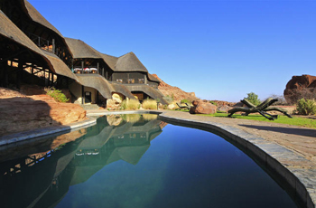 Swimming Pool at Twyfelfontein Country Lodge