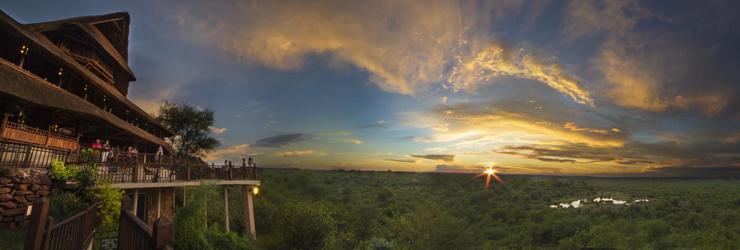 Victoria Falls Safari Lodge, Zimbabwe side of the Zambezi River