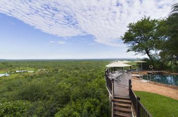 Victoria Falls Safari Lodge, the start of the 10 Day Zimbabwe Safari