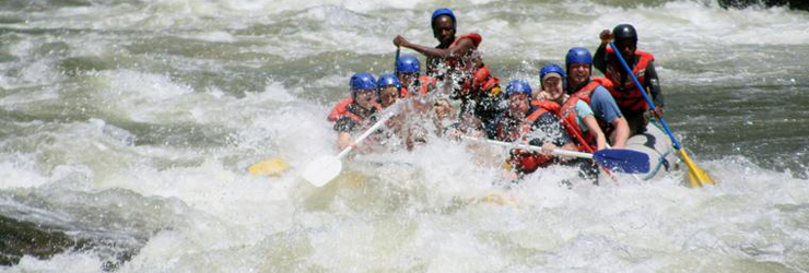 White Water Adventure, Victoria Falls, Zimbabwe