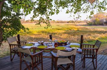 View from Nanzhila Plains Camp, Kafue, Zambia