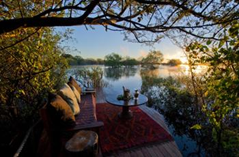 Sindabezi Island Camp, near Livingstone, Zambia