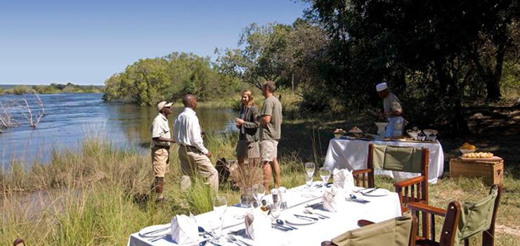 Zambezi Picnic, Sussi & Chuma, Livingstone, Zambia