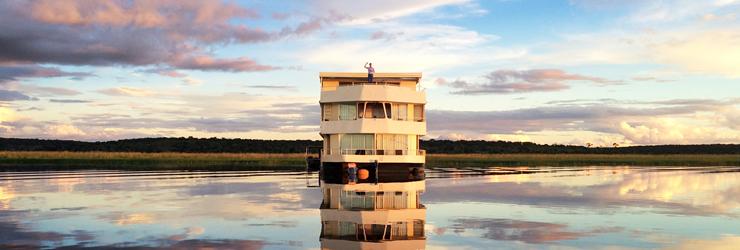 Zambezi Queen, Chobe River, Botswana
