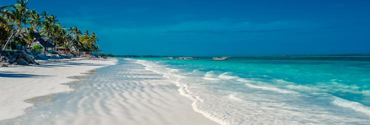 One of Zanzibar's magical beaches