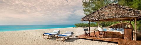 Beautiful beach, Mnemba Island Lodge, Zanzibar