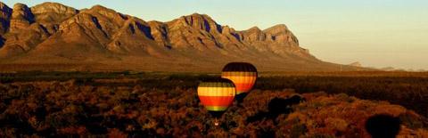 Breathtaking scenery from a Suncatchers balloon