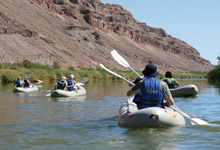 Canoe the Orange River