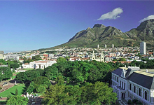 View from Cape Town Hollow Boutique Hotel