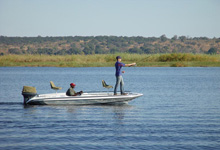 Fishing a Chobe Safari Lodge