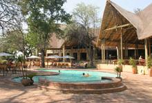 Main area, Chobe Safari Lodge
