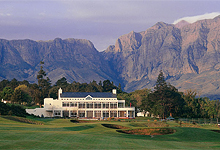 Golfing, Erinvale Estate Hotel, South Africa