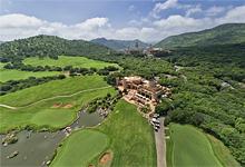 Golfing, Sun City, South Africa